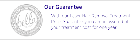 laser hair removal guarantee